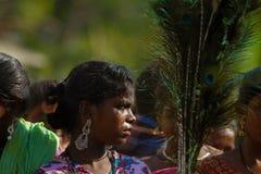 TAMIL NADU, INDIA -Narikurava in photography. TAMIL NADU, INDIA -Nariyan Community people some say are descendants or closely related to Lambadi tribes of stock image