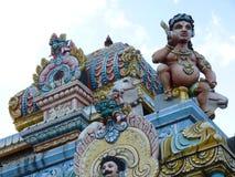 Tamil Surya Oudaya Sangam Temple Fotografía de archivo