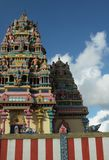 Tamil temple. In mauritius island Royalty Free Stock Photography