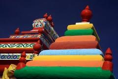Tamil temple. In mauritius island Stock Photos