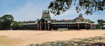 Tamilian Island Hindu temple, Sri Lanka stock images