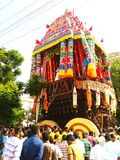 Tamilnadu. Car festival Stock Image