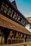 Tamilnadu Indien för arvarkitektur-Padmanabhapuramslott royaltyfria bilder