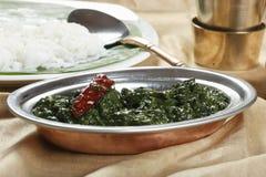 Tamilski szpinak Keerai Fotografia Stock