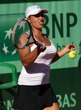 Tamira Paszek (AUT) in Roland Garros 2011 Royalty-vrije Stock Fotografie