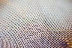 Tamis de filtre en métal Photos stock