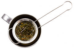 Tamis de thé Photographie stock