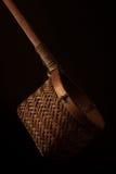 Tamis en bambou de thé image stock