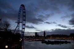 A Tamisa em Londres Fotos de Stock Royalty Free