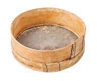Tamiz de madera Imagen de archivo