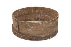 Tamiz de madera viejo Foto de archivo