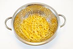 Tamiz del espagueti Foto de archivo