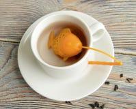 Tamiz del silicón para el té Fotografía de archivo libre de regalías