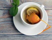 Tamiz para el té Fotografía de archivo