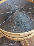 Tamiz redondo de Tradicional Fotografía de archivo