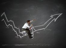 Tamme statistieken royalty-vrije stock foto