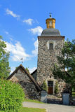 Tammela Church, Finland. Tammela late medieval church, Finland, was built c. 1530-1550 and the tower was completed in 1785 stock images