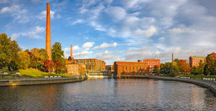 Free Tammerkoski Embankments In Tampere Royalty Free Stock Images - 62346149