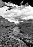 Tammerkoski kanał w Tampere zdjęcie stock