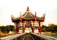Tamnaknampark van Thetsaban Chonburi stock fotografie