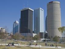 Tamoa Florida skyline 80. Photo image of part of Tampa Florida's skyline Stock Photo