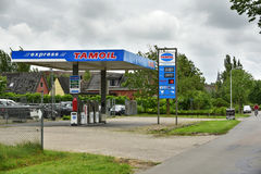 Tamoil Pay-at-the-pump filling station Royalty Free Stock Photo