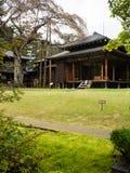 Tamozawa皇家别墅在日光,日本 免版税图库摄影