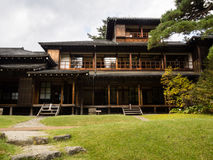 Tamozawa皇家别墅在日光,日本 图库摄影