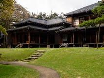 Tamozawa皇家别墅在日光,日本 免版税库存图片