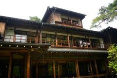 Tamozawa Imperial Villa, Nikko, Japan royalty free stock photography