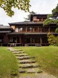 Tamozawa Imperial Villa in Nikko, Japan stock photography