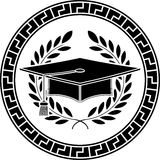 Tampão académico quadrado Foto de Stock
