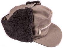 Tampão com proteção do inverno da orelha Fotografia de Stock Royalty Free