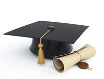 Tampão da graduação ilustração royalty free