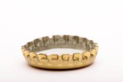 Tampão de coroa dourado Imagens de Stock