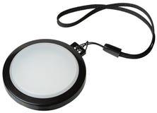 Tampão de filtro branco da lente do equilíbrio Imagens de Stock