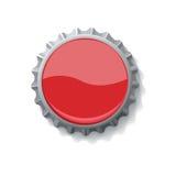 Tampão de frasco para o vetor das bebidas ilustração stock