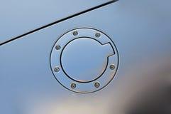 Tampão de gás de Audi foto de stock