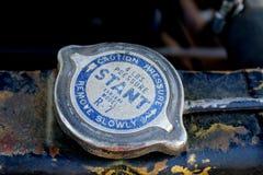 Tampão de radiador do modelo R7 de Stant Everseal Foto de Stock