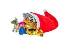 Tampão do Natal Imagens de Stock Royalty Free
