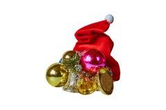 Tampão do Natal Fotos de Stock Royalty Free