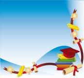 Tampão e grau da graduação Fotografia de Stock