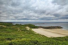 Tampão Frehel (Brittany, França): a costa Foto de Stock Royalty Free