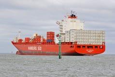TAMPÃO JERVIS do navio de recipiente Fotografia de Stock Royalty Free