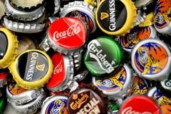 Tampões de garrafa Fotos de Stock
