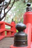 Tampões japoneses da ponte Imagem de Stock Royalty Free