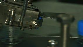Tampões plásticos do envoltório automático para garrafas video estoque