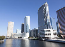 Tampa śródmieście zdjęcia stock
