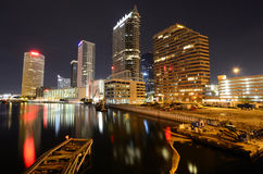 Tampa. Skyline of downtown Tampa, Florida Royalty Free Stock Image