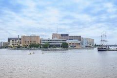 Tampa allmänt sjukhus Royaltyfria Foton